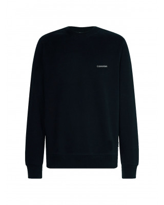Calvin Klein Organic Cotton Sweatshirt - Black