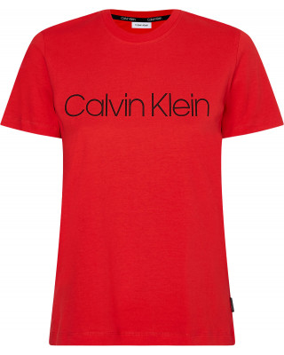 Calvin Klein Organic Cotton Core Logo T-Shirt - Red Glare