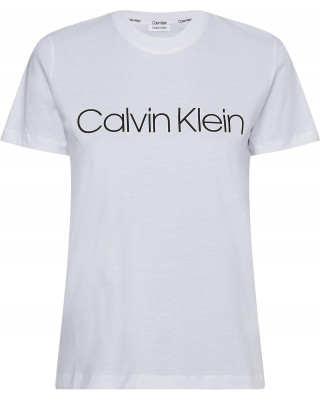 Calvin Klein Organic Cotton Core Logo T-Shirt - White