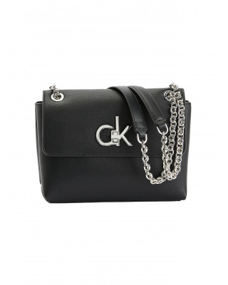 Calvin Klein Convertible Shoulder Bag - Black