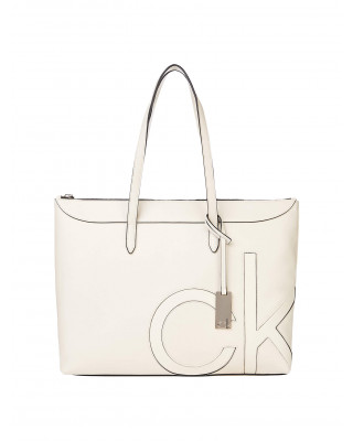 Calvin Klein Large Tote Bag - Birch