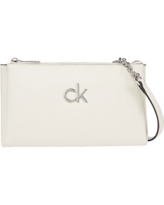Calvin Klein Crossbody Chain Detail Bag - Birch