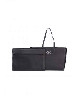 Calvin Klein Laptop Tote Bag - Black