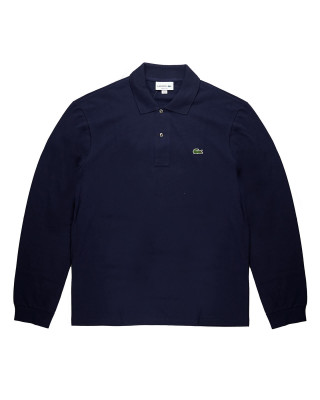 Lacoste Long Sleeve Classic Fit Polo Shirt - Marine