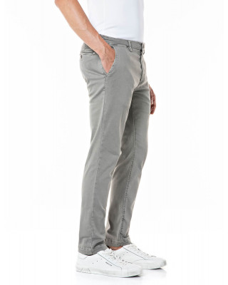 Replay Slim Fit Zeumar Hyperchino Colour Jeans - Grey
