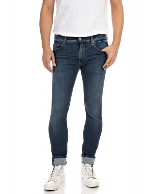 Replay Jondrill Hyperflex Re-Used Jeans - Dark Blue