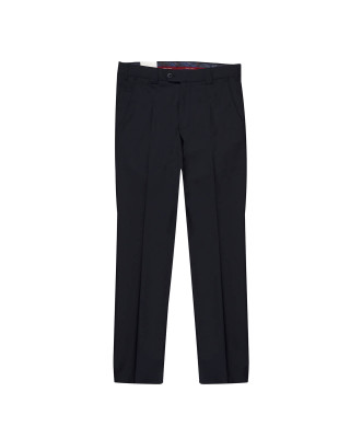 Meyer Roma Fine Tropical Wool Chinos - Navy