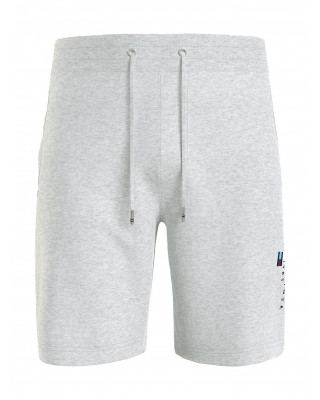 Tommy Hilfiger Essential Organic Cotton Sweat Shorts - Light Grey Heather