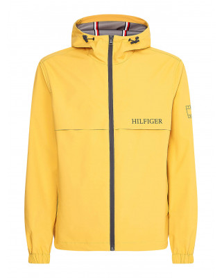 Tommy Hilfiger Technical Hooded Jacket - Courtside Yellow