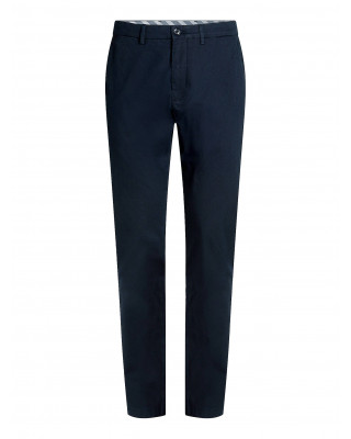 Tommy Hilfiger Denton Fitted Straight Leg Trousers - Desert Sky
