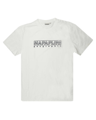 Napapijri Sebel SS T-Shirt - Bright White