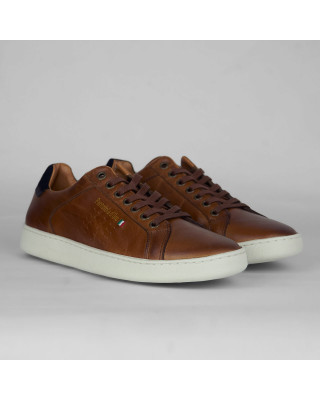 Pantofola d'Oro Uomo Low Top Trainers - Tortoise Shell