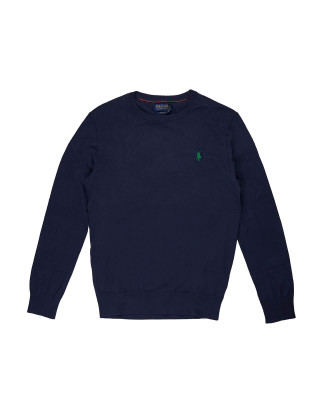 Polo Ralph Lauren Crew Neck Jumper - French Navy