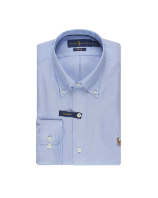 Polo Ralph Lauren Oxford Golf Shirt - Light Blue
