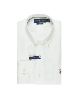 Polo Ralph Lauren Oxford Golf Shirt - White