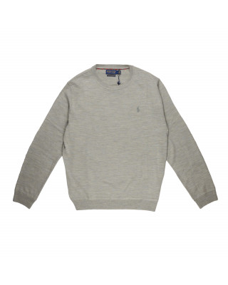 Polo Ralph Lauren Merino Wool Crew Neck Jumper - Dark Sport