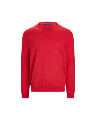 Polo Ralph Lauren Merino Wool Crew Neck Jumper - Sunrise Red