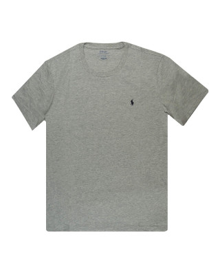 Polo Ralph Lauren Cotton Crew Neck T-Shirt - Andover Heather