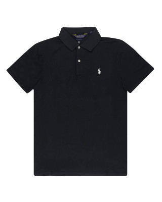 Polo Ralph Lauren Slim Fit Stretch Polo Shirt - Black