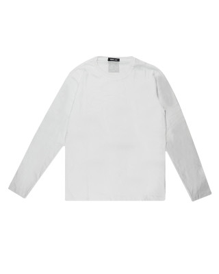 Replay Long Sleeve Cotton T-Shirt - White