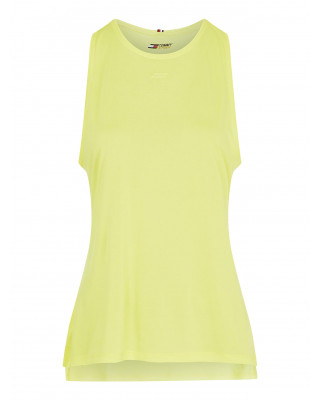 Tommy Hilfiger Sport Moisture Wicking Reflective Tank Top - Magnetic Yellow