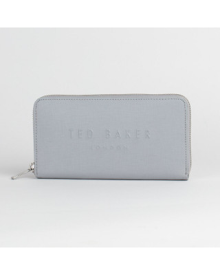 Ted Baker London Zip Matinee Purse - Light Grey