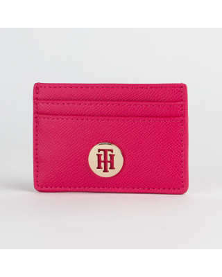 Tommy Hilfiger Classic Saffiano Credit Card Holder