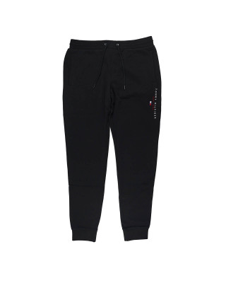 Tommy Hilfiger Essential Organic Cotton Joggers - Black