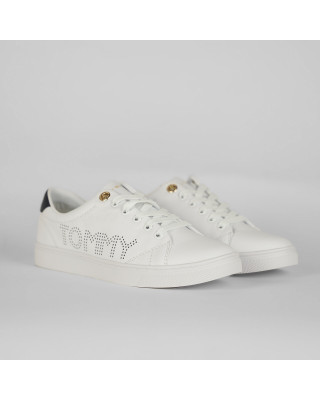 Tommy Hilfiger Iconic Cupsole Trainers - White
