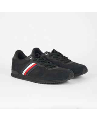 Tommy Hilfiger Iconic Trainers - Black