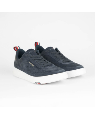 Tommy Hilfiger Modern Suede Cupsole Trainers - Desert Sky