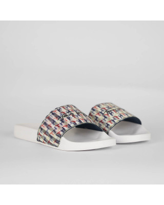 Tommy Hilfiger Monogram Holographic Sliders