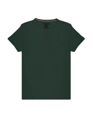 Tommy Hilfiger Organic Cotton Slim Fit T-Shirt - Pine Grove