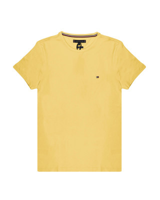 Tommy Hilfiger Organic Cotton Slim Fit T-Shirt - Delicate Yellow