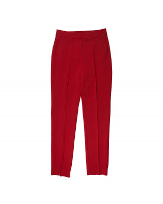 Tommy Hilfiger Slim Fit Viscose Trousers - Primary Red