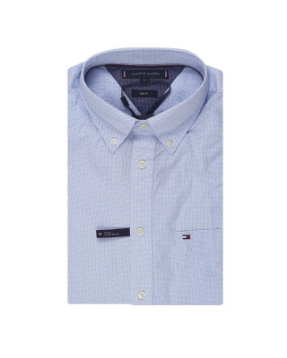 Tommy Hilfiger Micro Dot Short Sleeve Slim Fit Shirt