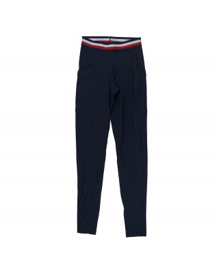 Tommy Hilfiger Sport TH Cool Signature Tape Leggings - Desert Sky