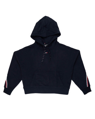 Tommy Hilfiger Sport TH Cool Tape Hoody - Desert Sky