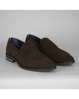 Tommy Hilfiger Signature Suede Loafer