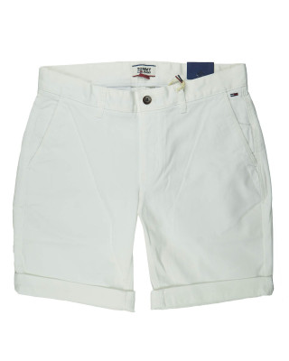 Tommy Jeans Scanton Chino Shorts - Classic White
