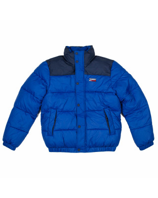 Tommy Jeans Corp Puffer Jacket - Providence Blue