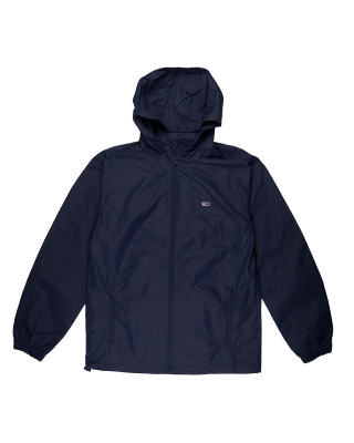 Tommy Jeans Recycled Nylon Packable Windbreaker - Twilight Navy
