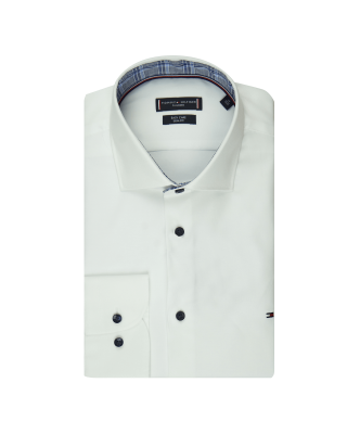Tommy Tailoring Fine Twill Shirt - White