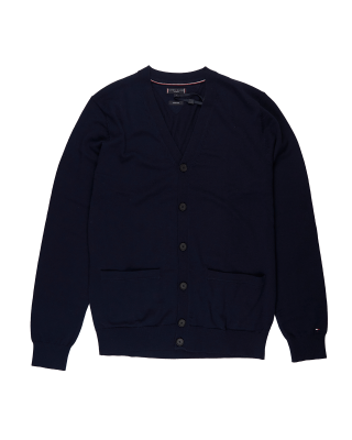 Tommy Tailoring Luxury Wool Classic Cardigan