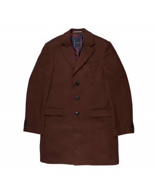 Tommy Hilfiger Virgin Wool Single Breasted Coat