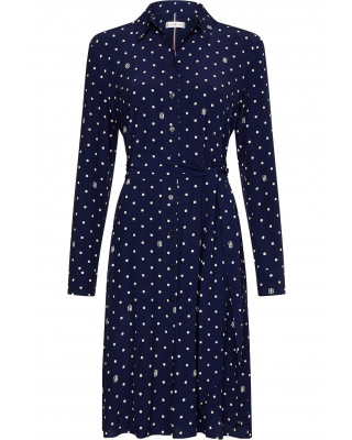 Tommy Hilfiger Polka Dot Shirt Dress