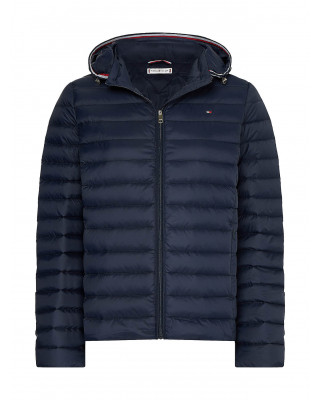 Tommy Hilfiger Essential Down-Filled Quilted Hooded Jacket - Desert Sky
