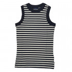 Gant Striped Ribbed Tank Top - Evening Blue