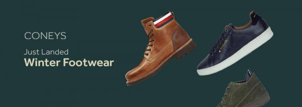 Just Landed: Winter Footwear